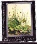 Sellos de Asia - Corea del norte -  serie- Durero