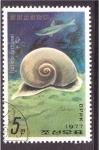 Stamps North Korea -  serie- Moluscos