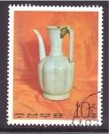 Stamps of the world : North Korea :  ceramica antigua
