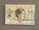 Stamps Oceania - Australia -  Centenario mujeres medicos