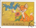 Stamps : Europe : Hungary :  PERSONAJES INFANTILES