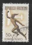 Sellos de America - Argentina -  21 - Dios Mercurio
