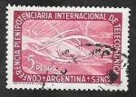Stamps Argentina -  542 - Conferencia plenipotenciaria internacional de Telecomunicaciones
