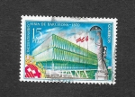 Stamps : Europe : Spain :  Edf 1975 - 50º Aniversario de la Feria de Barcelona