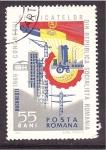 Stamps Romania -  congreso sindical