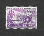 Stamps : Europe : Spain :  Edf 2292 - Industrialización Española