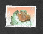 Stamps : Europe : Spain :  Edf 3284 - Minerales de España