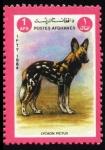 Sellos de Asia - Afganistán -  Licaon Pictus