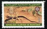 Sellos del Mundo : Africa : Mauritania : lézar