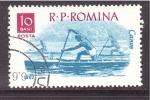 Sellos de Europa - Rumania -  serie- deportes acuaticos