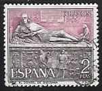 Stamps Spain -  Serie Turística El Doncel , Catedral de Singuenza (Guadalajara)