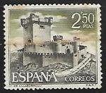 Sellos del Mundo : America : Estados_Unidos : Castillos de España - Sobroso (Pontevedra)