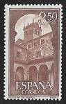 Sellos del Mundo : Europa : España : Monasterio de Sta. Maria del Parral  - Claustro