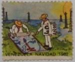 Stamps : America : Venezuela :  NAVIDAD 1982