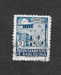 Stamps : Europe : Spain :  Edf 43 (Barcelona) - Casa Padellás