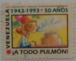 Stamps : America : Venezuela :  NAVIDAD 1993