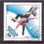 Stamps Hungary -  lake placid 80