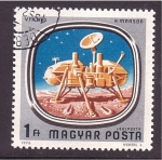 Stamps Hungary -  satelite