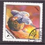 Sellos de Europa - Hungría -  estación espacial