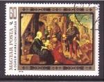 Stamps Hungary -  serie- Durero