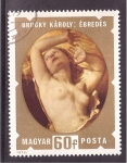 Stamps of the world : Hungary :  serie- desnudos