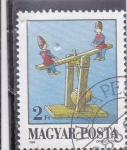 Stamps : Europe : Hungary :  JUEGO INFANTIL
