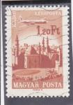 Stamps : Europe : Hungary :  AVIÓN SOBREVOLANDO EL CAIRO