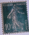 Stamps : Europe : France :  type semeuse camée