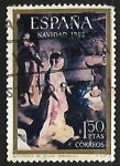 de Europa - España -  Navidad 1968