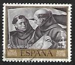 de Europa - España -  Alonso Cano - San Juan Capistrano y San Bernardino