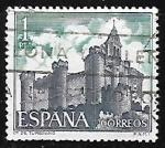 Sellos de Europa - España -  Castillos de España - Turégano  (Segovia)