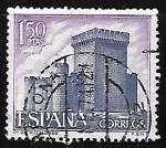 Stamps Spain -  Castillos de España - Villalonso (Zamora)