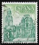 Sellos de Europa - España -  Serie Turística - Catedral de Murcia