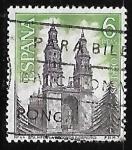de Europa - España -  Serie Turística - Iglesia de Sta. Maria La Redonda (Logroño)