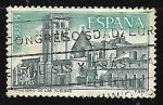 Sellos del Mundo : Europa : España : Monasterio de Huelgas - Vista general
