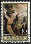 Stamps Europe - Spain -  Dia del sello - Luis Morales -
