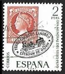 Stamps Spain -  Dia mundial del sello 1970