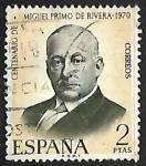 Stamps Europe - Spain -  Centenario del nacimiento de Miguel Primo de Rivera