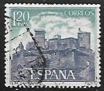 Stamps Europe - Spain -  Castillos de España - Monterrey, Verin (Orense)