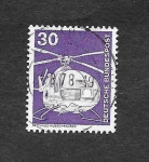 Stamps : Europe : Germany :  Helicoptero
