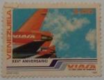 Sellos de America - Venezuela -  XXV ANIVERSARIO DE VIASA