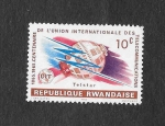 Sellos del Mundo : Africa : Rwanda : I Centenario de la Unión Internacional de Telecomunicaciones