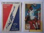 de America - Estados Unidos -  Juegos Panamericanos, Chicago 1959 y Copa Mundial USA 1994.