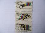 de America - Estados Unidos -  XI Juegos Olímpicos de Invierno en Sopporo 1972 y XX Juegos Olímpicos de Verano en Munich 1972.