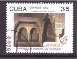 Sellos de America - Cuba -  EXPO FILATELIA 92