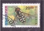 Stamps Bulgaria -  serie- insectos