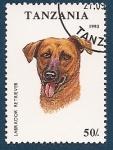 Stamps Tanzania -  Perros de Raza - Labrador Retriever