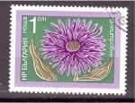 Stamps Bulgaria -  serie- flores de jardín