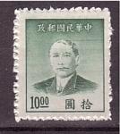 Sellos de Asia - China -  Dr. sun yat sen