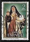 Sellos de Europa - España -  Centenario de celebridades - Santa Teresa